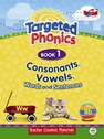 Targeted Phonics Book 1: Consonants, Vowels, Words and Sentences (with MP3)